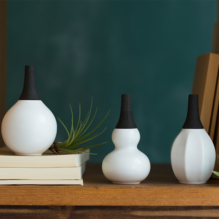 224porcelain Fragrance Pot セット